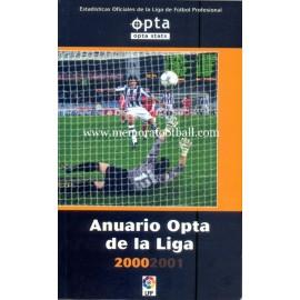 Anuario Opta de la Liga 2000-01