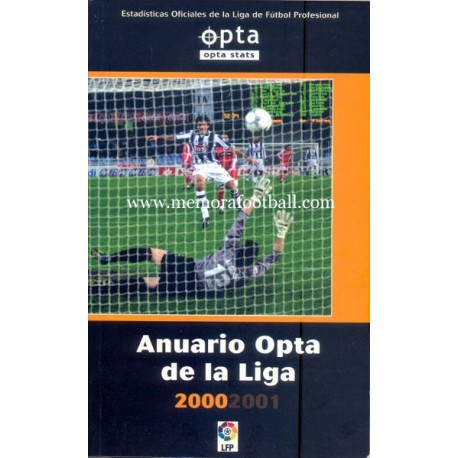 Spanish Football League 2000/01 annual report