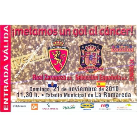 Spain National Team A.V. v Real Zaragoza A.V. 2010