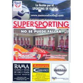 Programa Sporting de Gijón v Ponferradina 16-11-2012