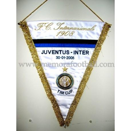 Juventus vs Inter 2008 pennant