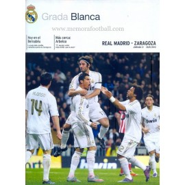 Real Madrid CF vs Zaragoza LFP 2011-2012
