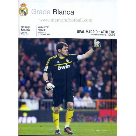 Real Madrid CF vs Athletic Club LFP 2011-2012