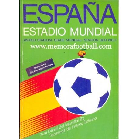 Guía Oficial del Campeonato Mundial de Fútbol 1982