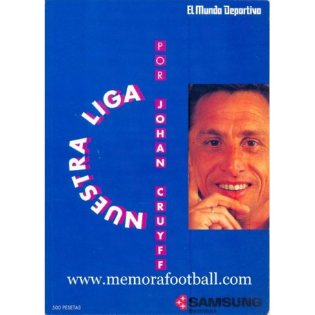 """Nuestra Liga"" by Johan Cruyff, 1991"