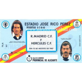 "Real Madrid vs AC Milan, 1990 ""Camacho"" Testimonial match"