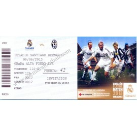 "Real Madrid vs Juventus ""Corazón Classic Match 2013"""