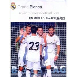 Real Madrid CF vs Real Betis, LFP 2013-2014