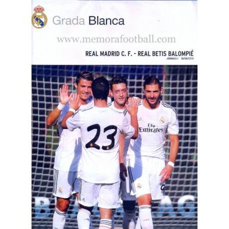 Real Madrid CF vs Real Betis, Spanish League 2013-2014