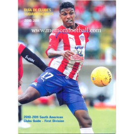Guía Sudamericana de Clubes de Fútbol 2010-2011