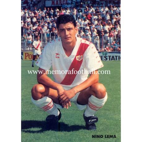 NINO LEMA Rayo Vallecano 1990