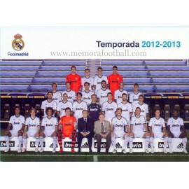 REAL MADRID CF temporada 2012-2013