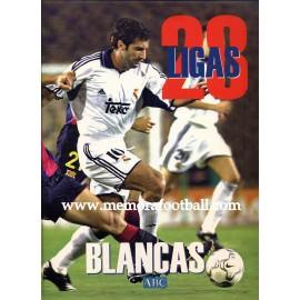 23 Ligas Blancas (Real Madrid CF) 2001