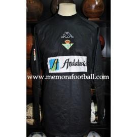 """""""BORNES"""" Real Betis Balompié LFP 1999/2000 Kappa Home SS camiseta usada en partido"""