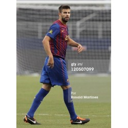 PIQUÉ FC Barcelona & Spain National Team 2011-2012 match worn boots