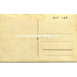 Tarjeta postal de futbolistas alemanes anonimos, 1920