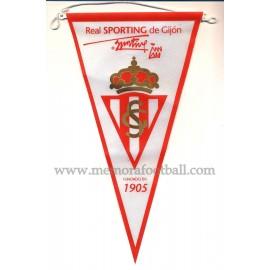 Banderín del Real Sporting de Gijón (Spain) 1990s