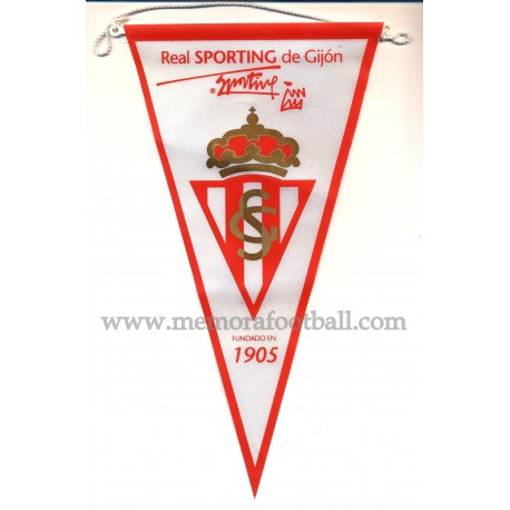Sporting de Gijón 1990s Pennant