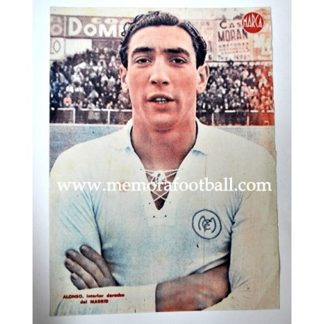 ALONSO Real Madrid CF 1940s