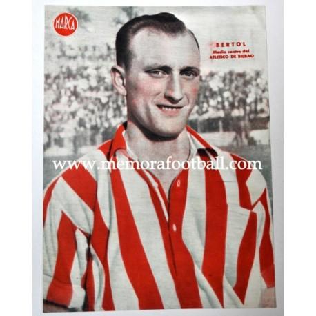 ECHEVARRÍA Atlético de Bilbao 1940s