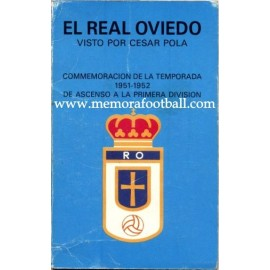 Real Oviedo 1951-1952 caricatures