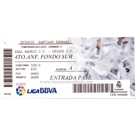 Real Madrid v Real Betis LFP 2013/14