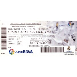 Real Madrid v Athletic Club LFP 2013/14