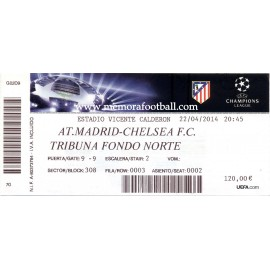 Atlético de Madrid v Apoel FC Champions League 2009-2010 ticket