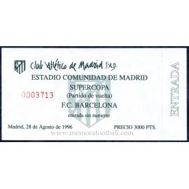 FC Barcelona vs Real Madrid Spanish Super Cup 1997