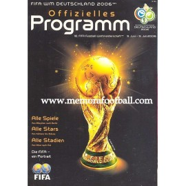 Programa Oficial FIFA World Cup Alemania 2006 . Edición alemana