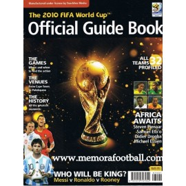 Official Guide Book FIFA World Cup 2010
