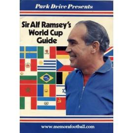 Sir Alf Ramsey´s 1970 Guía del Campeonato Mundial Mexico 1970