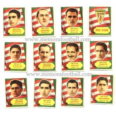 Real Gijón 1952 cards