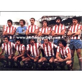 Fotografía del Real Sporting de Gijón 1970s
