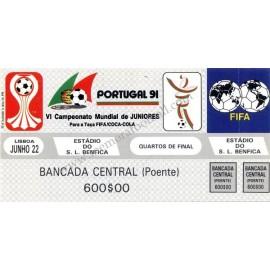 Portugal v México VI Campeonato Mundial de Juniors Portugal 1991