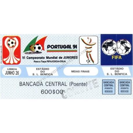 Portugal v Australia 1991 FIFA World Youth Championship