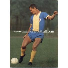 Lothar Ulsaß (Eintracht Braunschweig) 1960s postcard