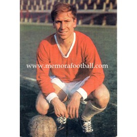 Bobby Charlton (Manchester United) 1960s postcard