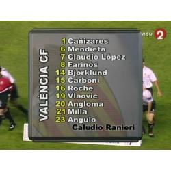 """""""BJÖRKLUND"""" Valencia CF 1998-98"""