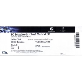 FC Schalke 04 sv Real Madrid 2013-14 Champions League