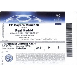 Bayern Munchen vs Real Madrid 07-03-2007