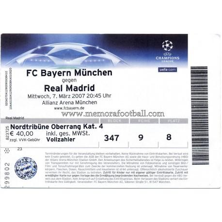 Tickets Bayern Real Madrid