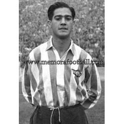 Escudero (Atlético de Madrid) 1955 Testimonial Match Medal
