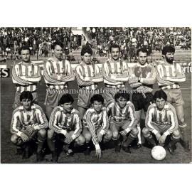 Fotografía del Real Sporting de Gijón 1980s