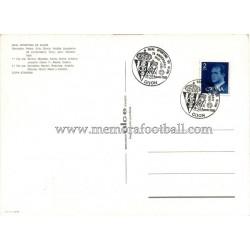 Tarjeta postal Sporting de Gijón 1979