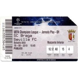 CS Braga v Sevilla FC 2010-11 Champions League