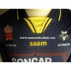 AD Alcorcón nº4 Spanish League 2ªB 2008/2009 match worn shirt