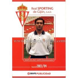 MARCELINO GARCÍA TORAL 2003-04