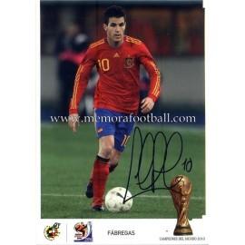"""FABREGAS"" FIFA World Champion 2010"