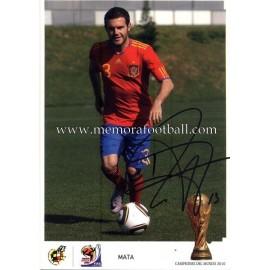 """""""MATA"""" Campeón del Mundo 2010"""